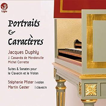Duphly, Cassanéa de Mondonville & Corrette: Portraits & Caractères