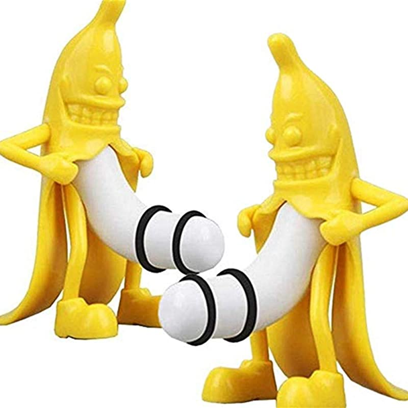 2 Pack Wine Bottle Stopper Wine Stopper Beverage Bottle Stoppers With Novelty Banana Design Home Wine Storage