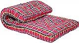 jymarketing Ponperi Soft Cotton Multicolour Mattress | Cotton Gadda (Box Rectangle Type 4 x 6 ft OR 72 x 48 inch)