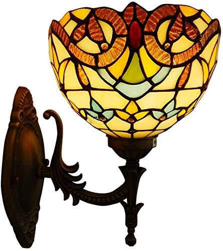 Estilo Barroco, lámpara de Noche para Dormitorio, lámpara Creativa Retro Europea, lámpara de decoración del hogar, lámpara de Fondo para Sala de Estar, lámpara de Pared Creativa montada en la
