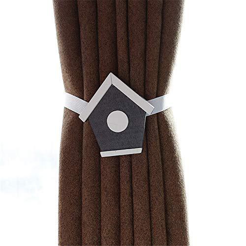 HO-TBO gordijn Diepbacks, 2 stuks creatieve kindergordijnen vouwhouder cartoon vorm gordijnhouder hout gordijn koord clips draperen touw vouwhouder & holdback hor raam gordijn riem