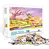 Difficult Adults Jigsaw Puzzle 1000 Pieces Winnie the Pooh Printing Puzzle Pieces Adults Games Wooden Jigsaw Puzzles Toys Family Photo Frame Gifts 75x50cm