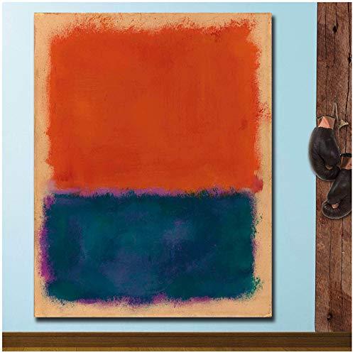 Print op canvas groot formaat muur foto's voor woonkamer abstract schilderij op canvas kunst home decor modern olieverfschilderij 60x90 cm / 23.6