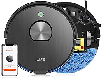 ILIFE A10 2-in-1 2000Pa Strong Suction Robot Vacuum and Mop