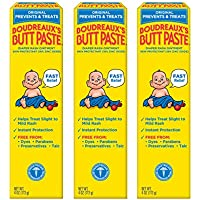 3-Pack Original Boudreaux's Butt Paste Diaper Rash Ointment, 4 Oz