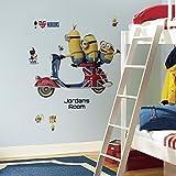 RoomMates Minions Peel & Stick Wall Décor Set