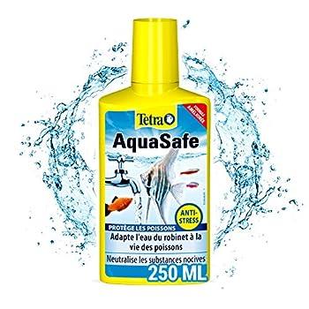 ➰TOUT SIMPLEMENT INDISPENSABLE➰De la première mise en eau aux besoins d'entretien et de nettoyage, Tetra Aquasafe est le Gold Standard des conditionneurs d'eau pour poissons tropicaux. Tetra AquaSafe adapte l'eau du robinet à la vie des poissons et p...