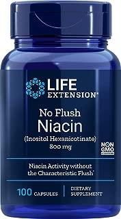 Best life extension no flush niacin 800 mg Reviews