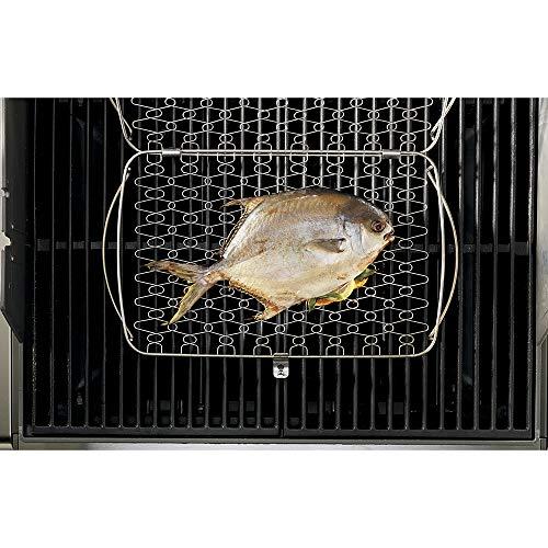 Weber 6471 Original Stainless Steel Fish Basket, Large,Multi