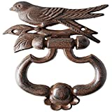 Fallen Fruits Bird Silhouette Door Knocker