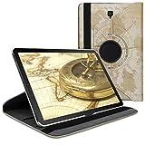 kwmobile Étui Compatible avec Samsung Galaxy Tab S4 10.5 - Étui à Rabat 360° avec Support et...