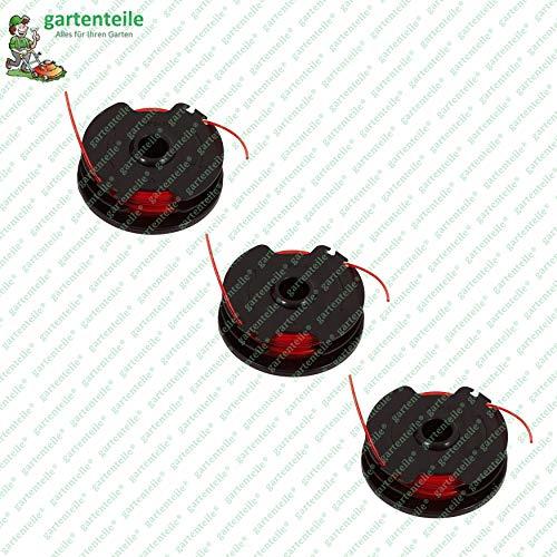 Bobina di filo di ricambio con 2 x 3 m, adatto per decespugliatore Parkside PRT 550 A1 - LIDL IAN 311404, Giallo