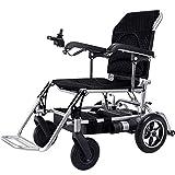XINTONGDA Faltbare elektrischer Stuhl, geringes Gewicht, 21kg, 360 ° Joystick Lithium-Batterie, Elektromobilität Assistent, Elektro-Rollstuhl, leichte Roller, tragbare ältere Behinderte Hilfe, Auto -