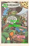 TMNT Teenage Mutant Ninja Turtles Cereal: Pizza Shaped marshmallows: Pizza Delivery! Great Original 1991 Print Ad