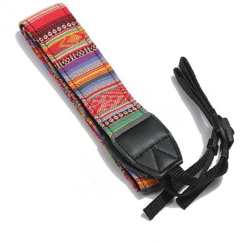 SLR DSLR Cámara Cuello Correa cinturón Vintage para Canon Nikon Pentax Sony