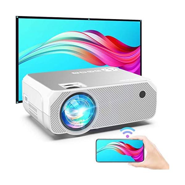 Bomaker Mini Projector, 300 Inch Picture, Portable Wireless Outdoor Movie &...