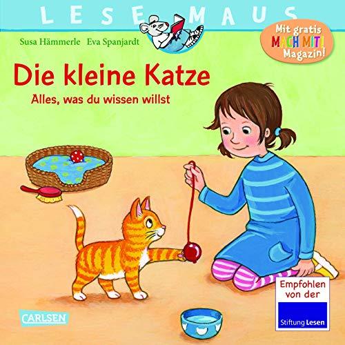 LESEMAUS 175: Die kleine Katze - alles, was du wissen willst (175)