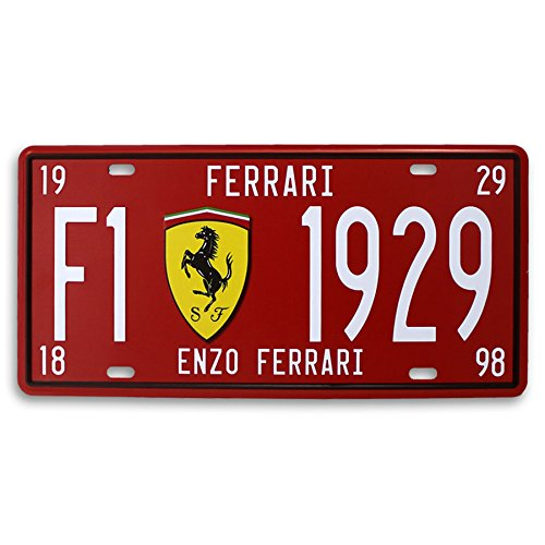 Placa de Matrícula Scuderia Ferrari