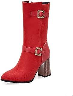 BalaMasa Womens ABS13994 Pu Boots