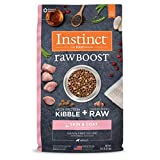 Instinct Raw Boost Skin & Coat Health Grain Free Recipe with Real Chicken Natural Dry Dog Food by Nature's Variety, 18 lb. Bag