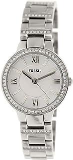 ساعة انالوج رسمية للنساء مصنوعة من الستانلس ستيل من فوسيل، ES3282