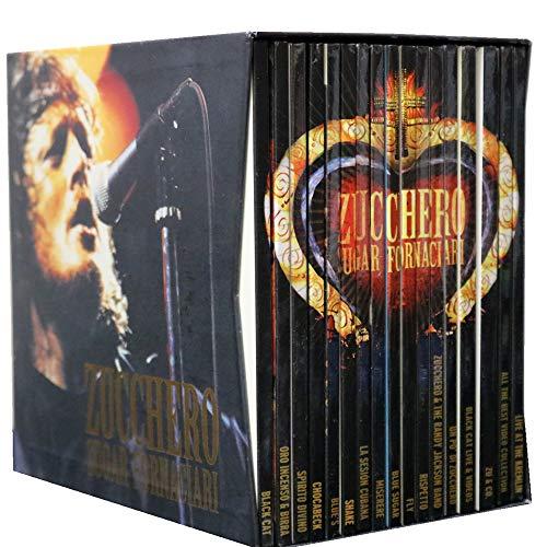 Zucchero Sugar Fornaciari - Cofanetto 4 DVD + 13 CD - Editoriale Arnoldo Mondadori Editore