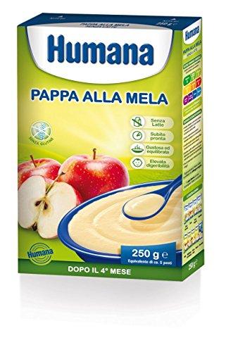 Pappa Alla Mela Per Bambini Senza Glutine E Senza Latte 4 Mesi + 250 G