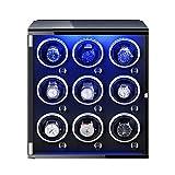 ZNND Watch Caja Giratorias para Relojes con Motor Silencioso 5 Modos Diferentes Rotación con Luces De Colores para La Mayoría De Los Relojes De Pulsera (Color : D)
