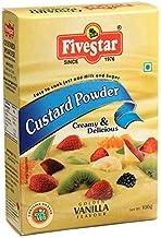 FIVESTAR Custard Powder Vanilla 100g Box (Pack of 7 , 700g)