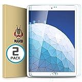 MANTO 2 Stück Panzerglas Schutzfolie für iPad Air 3 2019 / iPad Pro 10,5 Zoll - Premium Kristallklarer Hartglas Bildschirmschutz 9H Gehärtetes Panzerglas für iPad Pro 10,5