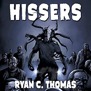 Hissers audiobook cover art