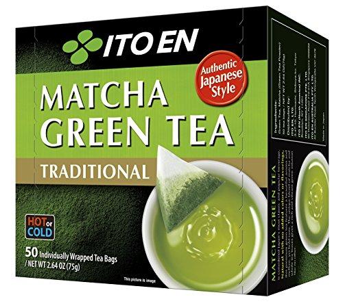 Ito En Traditional Matcha Green Tea, 50 Count