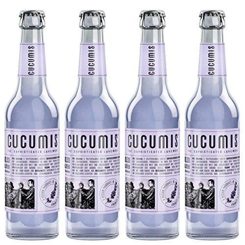 Cucumis - The Sophisticated Lavender Lavendellimonade 4er MW inkl. Pfand - 4x0,33l
