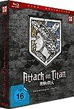 Attack on Titan - Staffel 1 - Gesamtausgabe - [Blu-ray] Deluxe Edition [Alemania]