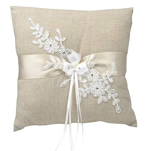 HESHIFENG party /& accessories Wedding ring pillow wedding ring pillow for ring bearer We Do S3