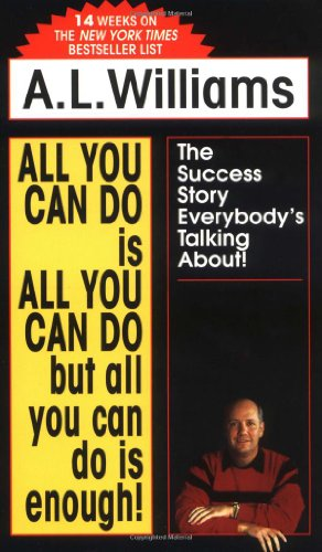 All You Can Do Is All You Can Do But All You Can Do Is Enough!