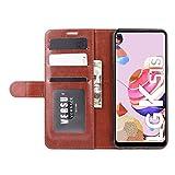 DAMAIJIA Fold Case For LG K51S Case Wallet PU Leather