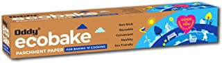 """Oddy Ecobake Baking & Cooking Parchment Paper 10"""" X 20 Mtrs ( Oddy Uniwraps )"""