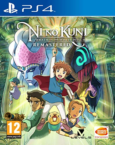 Ni No Kuni: Wrath Of The White Witch: Remastered - PlayStation 4 [Importación inglesa]