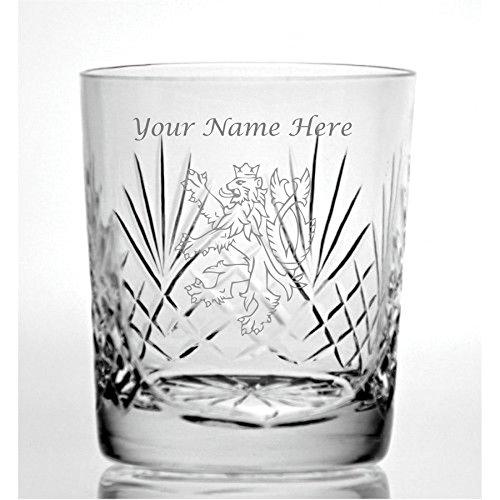Personalizado grabado corte cristal ml Whisky cristal con