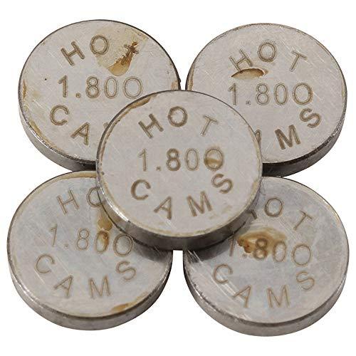 Hot Cams 1.80mm 5 Piece Shim Kit 5PK948180 for Yamaha YZ Dirt Bikes