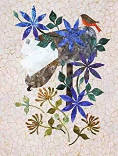 Seasonal Silhouettes Block 8 Laser Cut Fusible Applique Kit With Fabric, Sewing Kit