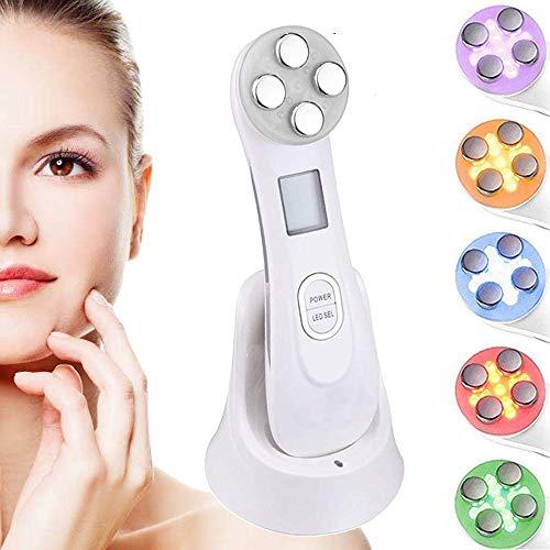 Ultras0nic Beauty Device, Anti-falten Gesichtsmaschine & 5in1 Ultras0nic Rot-led-licht, Gesichtsreiniger, Faltenentferner, Face Lifting Tighten, Anti-aging