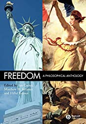 Freedom: A Philosophical Anthology Book Cover
