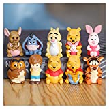 Cherry blossoms LINLIN 10 unids/Set Dibujos Animados Winnie The Pooh Action Figure Toy Pooh Bear...