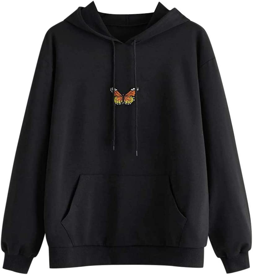 Fort Worth Mall Max 84% OFF Eoailr Hoodies for Women Graphic Pri Teen Butterfly Girl