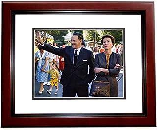 Tom Hanks Signed - Autographed Saving Mr. Banks - Walt Disney 8x10 inch Photo MAHOGANY CUSTOM FRAME