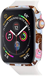 MightySkins Skin Compatible with Apple Watch Series 4 & 5 44mm - Donut Binge | Protective, Durable, and Unique Vinyl Decal Wrap Cover | Easy to Apply, Remove, and Change Styles | Made in The USA