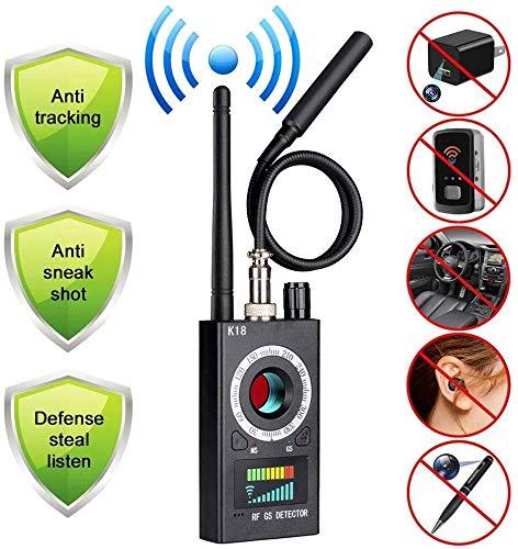 Wanzen-Detektor, GPS-Verfolger, Anti-Spion-Kamera-Detektor, Wireless Signal Pinhole Laser-Objektiv-GSM-Detektor Ultrahohe Empfindlichkeit Full-Range Tracker Finder