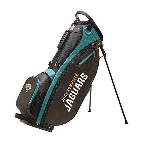 Wilson 2018 NFL Carry Golf Bag, Jacksonville Jaguars, Black/Teal